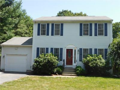 Coventry Single Family Home For Sale: 23 Cobblestone Ter