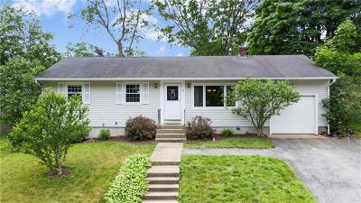 Coventry Single Family Home For Sale: 62 Yale Dr