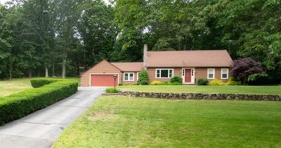 North Smithfield Single Family Home For Sale: 819 Pound Hill Rd