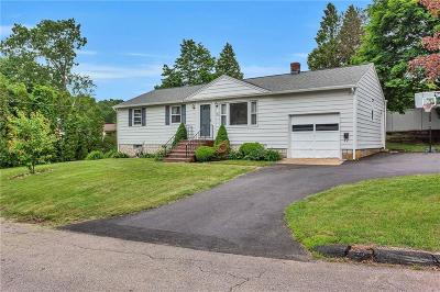 Coventry Single Family Home For Sale: 104 Yale Dr