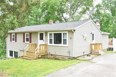 Glocester Single Family Home For Sale: 25 Edgewood Rd