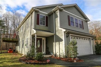 Scituate Single Family Home For Sale: 482 Rocky Hill Rd