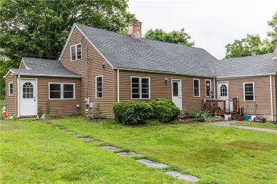 Scituate RI Single Family Home For Sale: $269,900