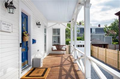 Newport RI Single Family Home For Sale: $1,099,000