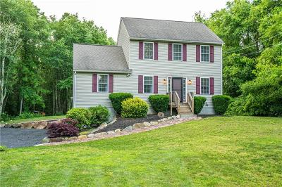 Glocester Single Family Home Act Und Contract: 1285 Snake Hill Rd