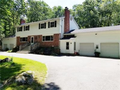 Scituate Single Family Home For Sale: 178 - 180 Burnt Hill Rd