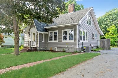 North Attleboro Single Family Home For Sale: 138 Chestnut St