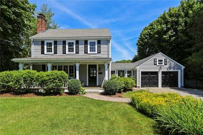 Barrington Single Family Home Active Under Contract: 218 Nayatt Road