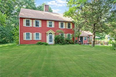 Worcester County, Providence County, Windham County Single Family Home For Sale: 225 Iron Mine Hill Rd
