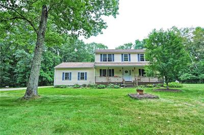 Coventry Single Family Home For Sale: 899 Hammet Rd