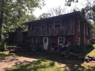 Burrillville Single Family Home For Sale: 1021 South Main St