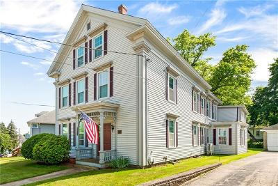 Woonsocket Multi Family Home For Sale: 94 Summer St