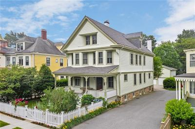 Newport Single Family Home Act Und Contract: 24 Greenough Pl