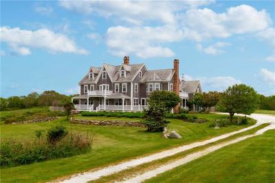 Block Island Single Family Home For Sale: 1432 Cooneymus Road