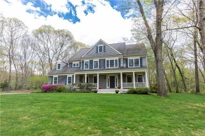South Kingstown Single Family Home For Sale: 761 - B Curtis Corner Rd