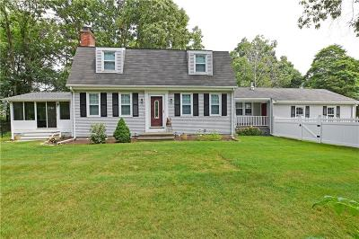 Seekonk Single Family Home For Sale: 51 Wildflower Dr