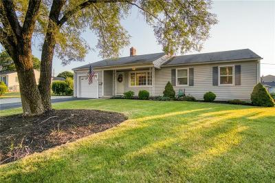 Woonsocket Single Family Home For Sale: 135 Walnut Hill Rd
