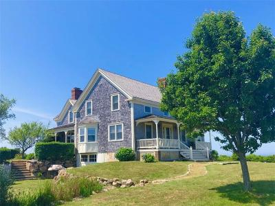 Block Island Single Family Home For Sale: 1405 Off Cooneymus Road