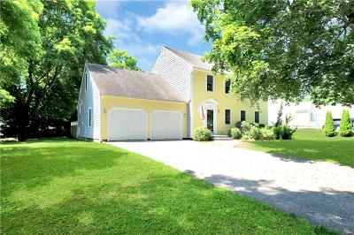 Westerly Single Family Home Act Und Contract: 99 Old Post Rd
