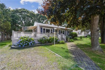 Westerly Single Family Home For Sale: 44 Montauk Av