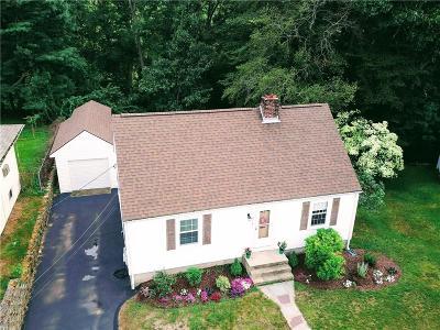 Cranston Single Family Home For Sale: 214 Riverside Av