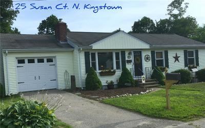 North Kingstown Single Family Home Act Und Contract: 25 Susan Ct