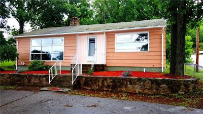 Woonsocket Single Family Home For Sale: 1418 Mendon Rd