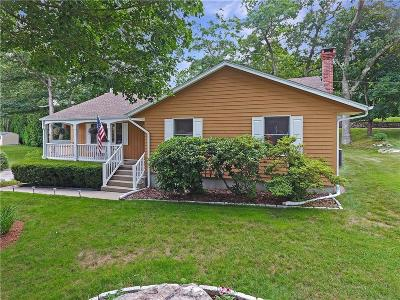 Westerly Single Family Home Act Und Contract: 24 Milrose Av