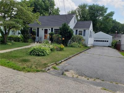 Cranston Single Family Home Act Und Contract: 33 Hamilton Rd