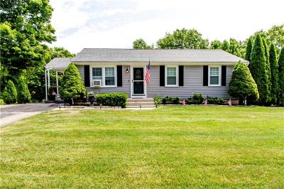 Burrillville Single Family Home Act Und Contract: 941 Victory Hwy