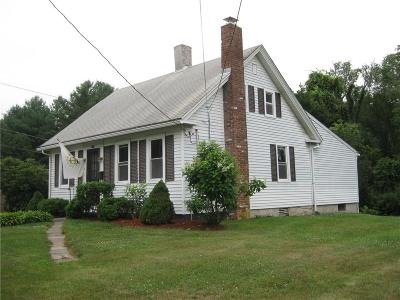 Coventry Single Family Home For Sale: 135 Hill St