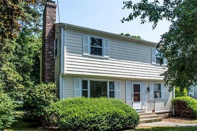 Narragansett Single Family Home For Sale: 65 Lambert St St