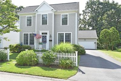 North Kingstown Single Family Home For Sale: 19 Sea Grass Wy