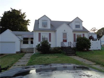 Providence County Single Family Home For Sale: 9 Stephen St