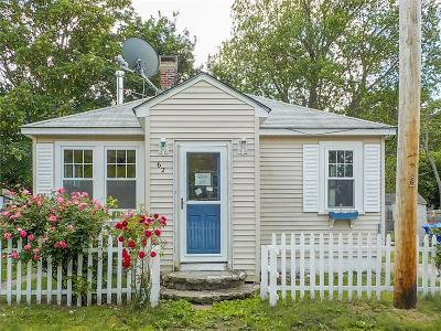 Portsmouth Single Family Home Act Und Contract: 62 Cove St