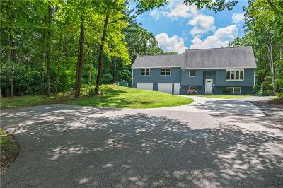 Burrillville Single Family Home For Sale: 124 Eagle Peak Rd