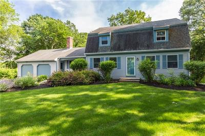 Narragansett Single Family Home Active Under Contract: 90 Woodward Avenue