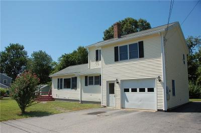 Charlestown Single Family Home For Sale: 124 Pequot Drive