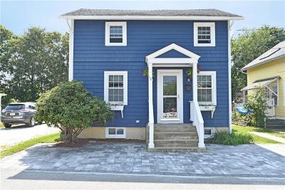 East Greenwich Single Family Home For Sale: 12 Lincoln St