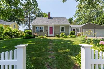 North Kingstown Single Family Home Active Under Contract: 77 Lawton Avenue