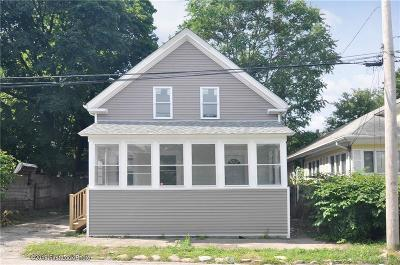 Cranston Single Family Home For Sale: 66 Hathaway St