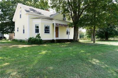 Johnston Single Family Home For Sale: 2344 Plainfield Pike