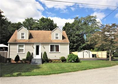 Coventry Single Family Home For Sale: 15 Brentwood Dr