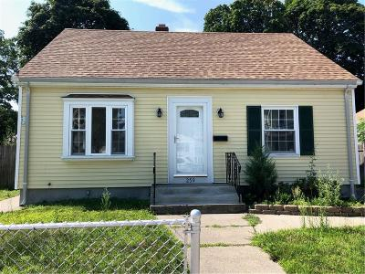 Pawtucket Single Family Home For Sale: 259 Vine St