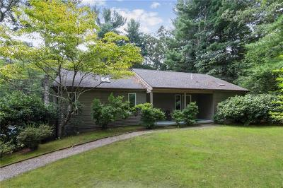 North Smithfield Single Family Home For Sale: 784 Pound Hill Rd