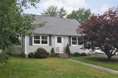 West Warwick Single Family Home For Sale: 66 Harding St