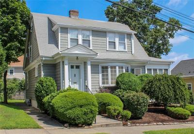 Providence County Single Family Home For Sale: 42 12th St