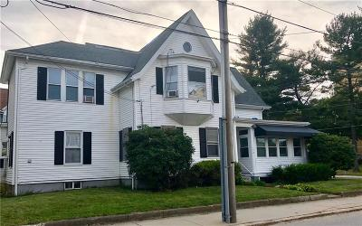 Woonsocket Single Family Home For Sale: 172 Pond St