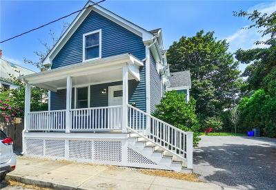 Newport Single Family Home For Sale: 31 Edward St