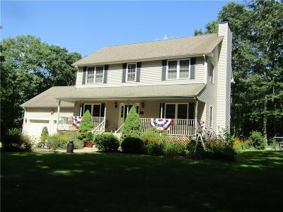 Glocester Single Family Home For Sale: 78 Willie Woodhead Road